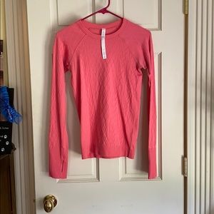 Pattered long sleeve